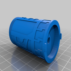 Download free STL file Fallen Order - Magnatic Lightsaber Connector • Object to 3D print, Carahnios