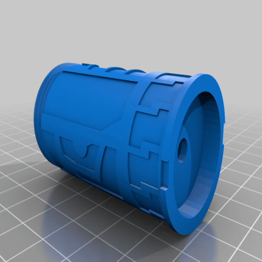 saberP3_Magnet-W.png Download free STL file Fallen Order - Magnatic Lightsaber Connector • Object to 3D print, Carahnios
