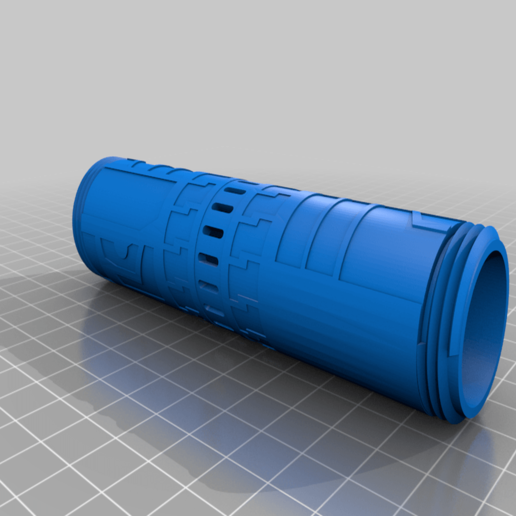 Kupplung.png Download free STL file Fallen Order Double Lightsaber connector • 3D printable template, Carahnios