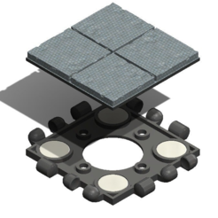 Zusammenbau.PNG Download free STL file Polypanels - Dungeon Tiles • 3D printing object, Carahnios