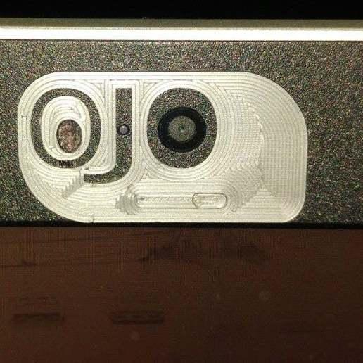 OJOabierto.jpg Télécharger fichier STL gratuit Housse de caméra portable • Plan pour imprimante 3D, jlams1958