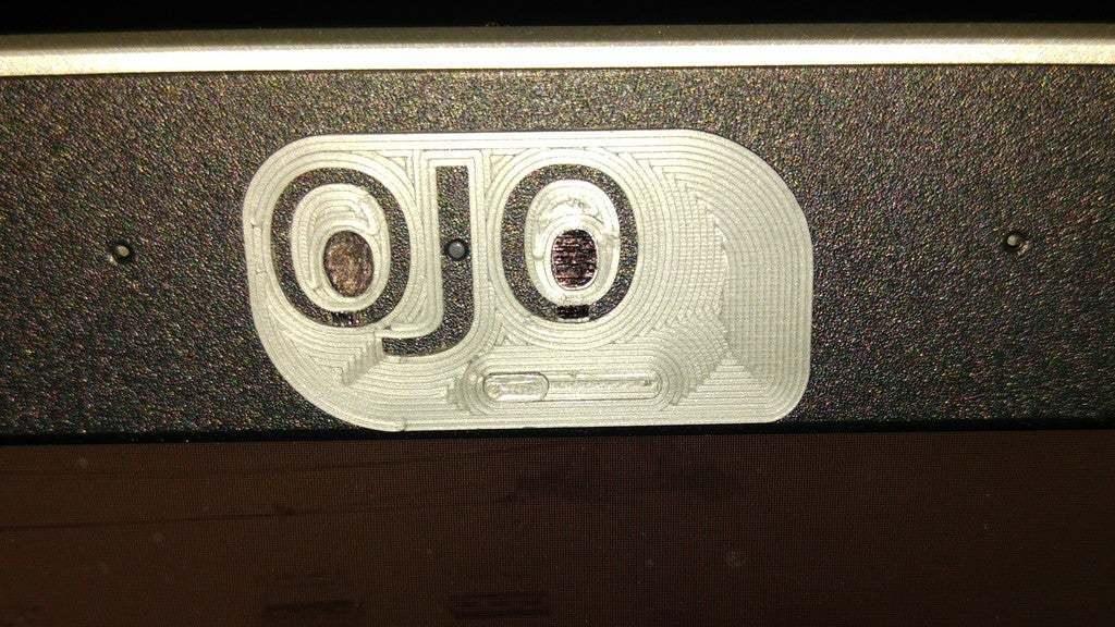 OJOcerrado.jpg Télécharger fichier STL gratuit Housse de caméra portable • Plan pour imprimante 3D, jlams1958