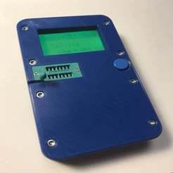 IMG_5745.jpg Télécharger fichier STL Cas du testeur de composants électroniques LCR M328 T4 Mega328 • Modèle pour impression 3D, taviand