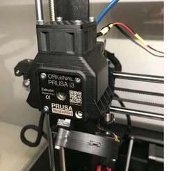 IMG_6503.jpg Télécharger fichier STL gratuit Extrudeuse Prusa i3 MK3s Refroidisseur MOTEUR avec ou sans capteur de température • Objet à imprimer en 3D, taviand