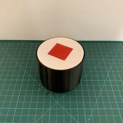 IMG_4603 2.jpg Télécharger fichier STL Boîte secrète de sushis Hosomaki • Objet à imprimer en 3D, Catox3d
