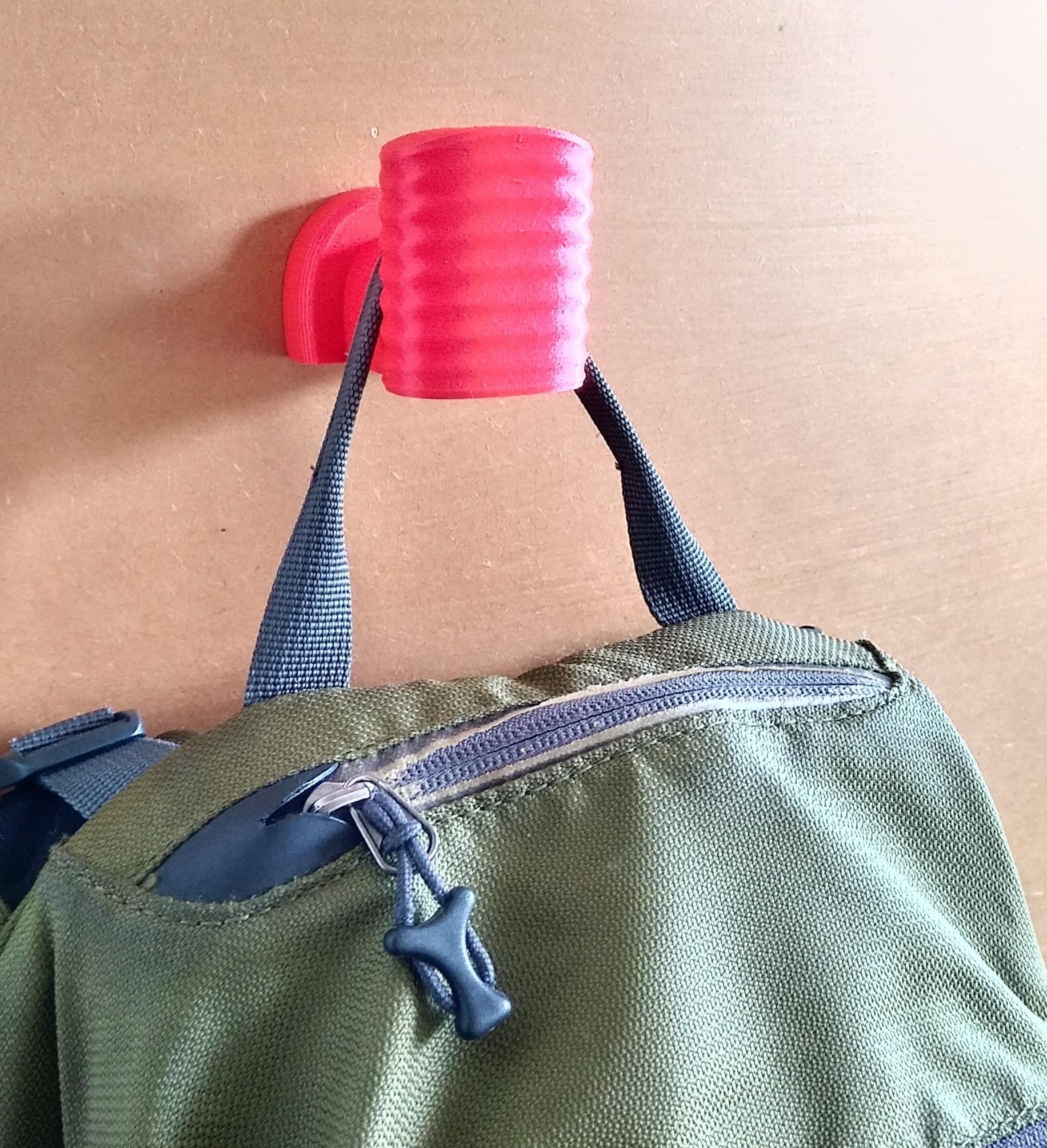 Coat rack 6a.jpg Download free STL file Coat Rack Backpack • Model to 3D print, JuanLC