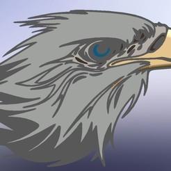 WhatsApp Image 2020-05-16 at 23.17.54.jpeg Download STL file eagle's head • 3D printable object, joanmanero17