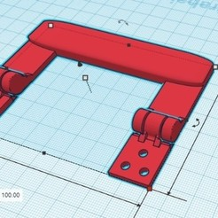 manija con bisagra.jpg Download free STL file Hinged handle • 3D printable model, mikrotech