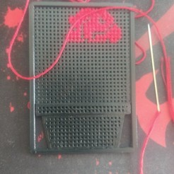 Descargar modelos 3D aro de punto de cruz, rebecabarron