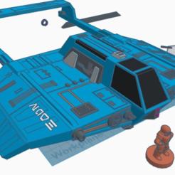 Download free 3D printing designs Cloakshape (Star Wars Legion scale), McAnultyMiniatures