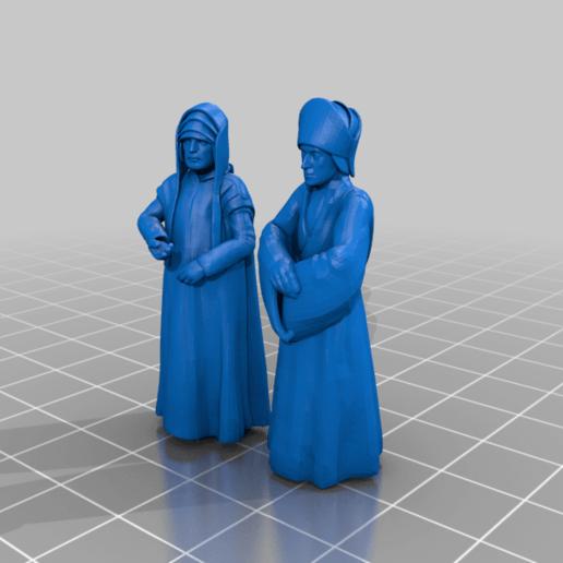 _advisors.png Download free STL file Emperor's Advisors (star wars legion scale) • 3D printable template, McAnultyMiniatures