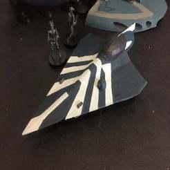 Descargar diseños 3D gratis Delta-7 Aethersprite Jedi Starfighter (escala de la legión de la Guerra de las Galaxias), McAnultyMiniatures