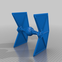 Download free 3D print files Mining Guild TIE Fighter (Star Wars Legion scale), McAnultyMiniatures