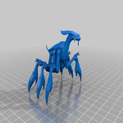 acklay.png Télécharger fichier STL gratuit Acklay (échelle de la légion de la guerre des étoiles) • Modèle imprimable en 3D, McAnultyMiniatures