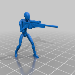 droid_commando_sniper.png Download free STL file BX Commando Droid Sniper (star wars legion scale) • 3D printer model, McAnultyMiniatures