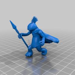 Descargar modelo 3D gratis Thi-Sen (escala de la legión de la Guerra de las Galaxias), McAnultyMiniatures