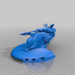 Descargar modelos 3D gratis AAT (escala de la legión de la Guerra de las Galaxias), McAnultyMiniatures