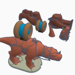 Download free 3D printer model Fambaa (version 2, star wars legion scale), McAnultyMiniatures