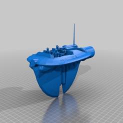 Descargar archivo 3D gratis Taxi aéreo de Coruscant (escala de la legión), McAnultyMiniatures