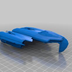 Descargar modelos 3D gratis Bellubab/Soulless One (Grievous' Starfighter, escala de la legión de la Guerra de las Galaxias), McAnultyMiniatures