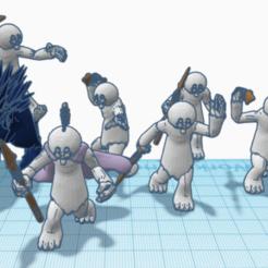 Descargar modelos 3D gratis Guerreros de Talz (escala de legión de Star Wars), McAnultyMiniatures