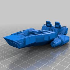 Impresiones 3D gratis LIUV de primer orden (escala de legión de la Guerra de las Galaxias), McAnultyMiniatures