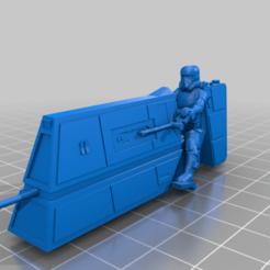 patrol_bike_and_rider.png Download free STL file Patrol Speeder Bike (star wars legion scale) • 3D print object, McAnultyMiniatures