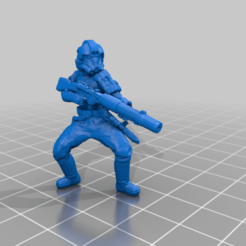 _ISF_T21.png Download free STL file Imperial Special Forces (star wars legion scale) • 3D printing template, McAnultyMiniatures