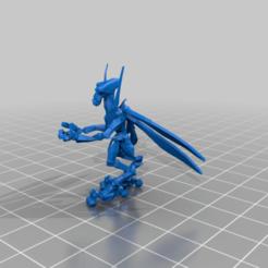 Download free 3D printing templates Geonosian Turret Gunner (star wars legion scale), McAnultyMiniatures