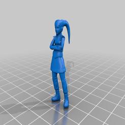 Download free 3D printing templates Twi'lek Civilian (Star Wars Legion Scale), McAnultyMiniatures