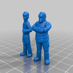 aresko_and_grint.png Download free STL file Commandant Aresko and Taskmaster Grint (legion scale) • 3D printable design, McAnultyMiniatures