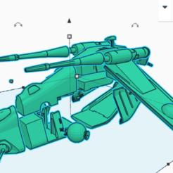 laat_breakdown.png Télécharger fichier STL gratuit LAAT Gunship (échelle de la légion de la guerre des étoiles) • Objet pour imprimante 3D, McAnultyMiniatures