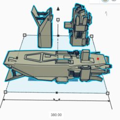 Download free 3D printing templates First Order AAL (star wars legion scale), McAnultyMiniatures