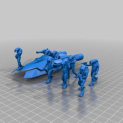 Descargar modelo 3D gratis Ejército Selkath (escala de la legión de la Guerra de las Galaxias), McAnultyMiniatures
