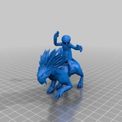 Descargar archivos 3D gratis Narglatch Rider (escala de la legión de Star Wars), McAnultyMiniatures