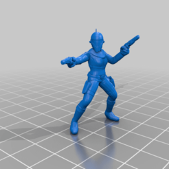 Download free 3D printer model Zorii Bliss (star wars legion scale), McAnultyMiniatures