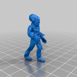 ackbar.png Download free STL file Captain Ackbar (star wars legion scale) • 3D print template, McAnultyMiniatures