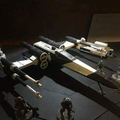 Download free 3D printing designs X wing (Star Wars Legion scale), McAnultyMiniatures