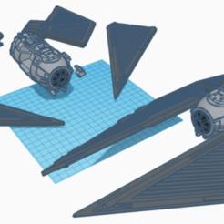 Descargar diseños 3D gratis TIE Striker (escala de la legión de Star Wars), McAnultyMiniatures