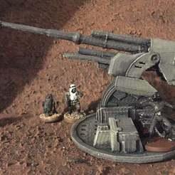 Descargar modelos 3D gratis Colocación de Turboláser (escala de legión de Star Wars), McAnultyMiniatures