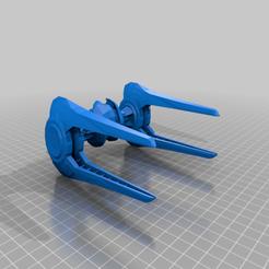 Imprimir en 3D gratis Tanque volador umbarano (escala de la Legión de la Guerra de las Galaxias), McAnultyMiniatures