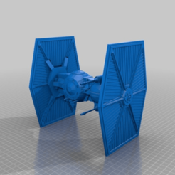 Download free 3D printer files TIE Brute (Star Wars Legion scale), McAnultyMiniatures