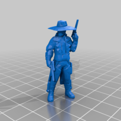 cad_bane.png Download free STL file Cad Bane (star wars legion scale) • Model to 3D print, McAnultyMiniatures