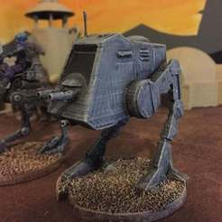 Download free 3D printing templates AT-PT (Star Wars Legion scale), McAnultyMiniatures