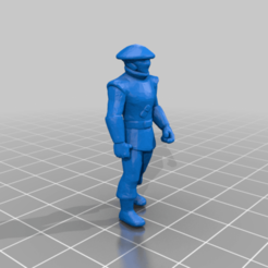 kyuzo_man.png Download free STL file Kyuzo Civilian (star wars legion scale) • 3D printing design, McAnultyMiniatures