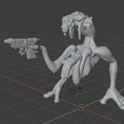 dug.jpg Download free STL file Dug Scoundrel (star wars legion scale) • 3D printing object, McAnultyMiniatures