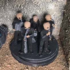 Download free STL file Figrin D'an and the Modal Nodes (star wars legion scale), McAnultyMiniatures