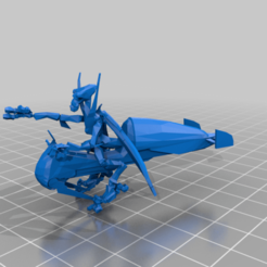 Download free 3D printing templates Geonosian Flitknot Speeder Bikes (star wars legion scale), McAnultyMiniatures