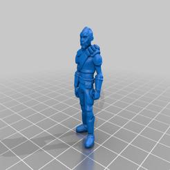 Download free 3D printer files Nikto Civilian (Star Wars Legion Scale), McAnultyMiniatures