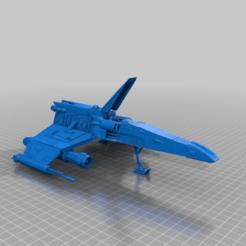 Impresiones 3D gratis Ala E (escala de la legión de la Guerra de las Galaxias), McAnultyMiniatures